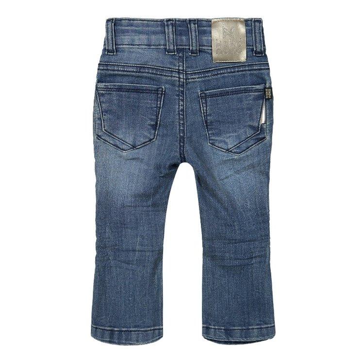 Koko Noko Mädchen Flared Blue Jeans | F40976-37
