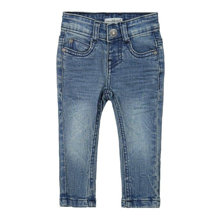 Koko Noko meisjes jeans blauw   F40987-37