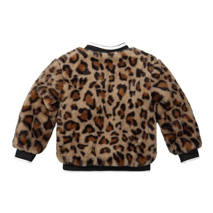 Koko Noko girls winter coat panther bomber jacket | F40988-37