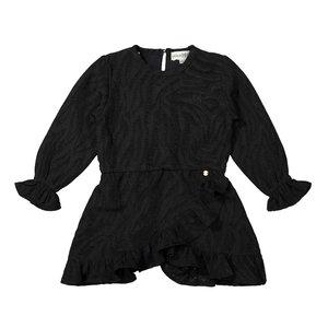 Koko Noko meisje jurk zwart tijger