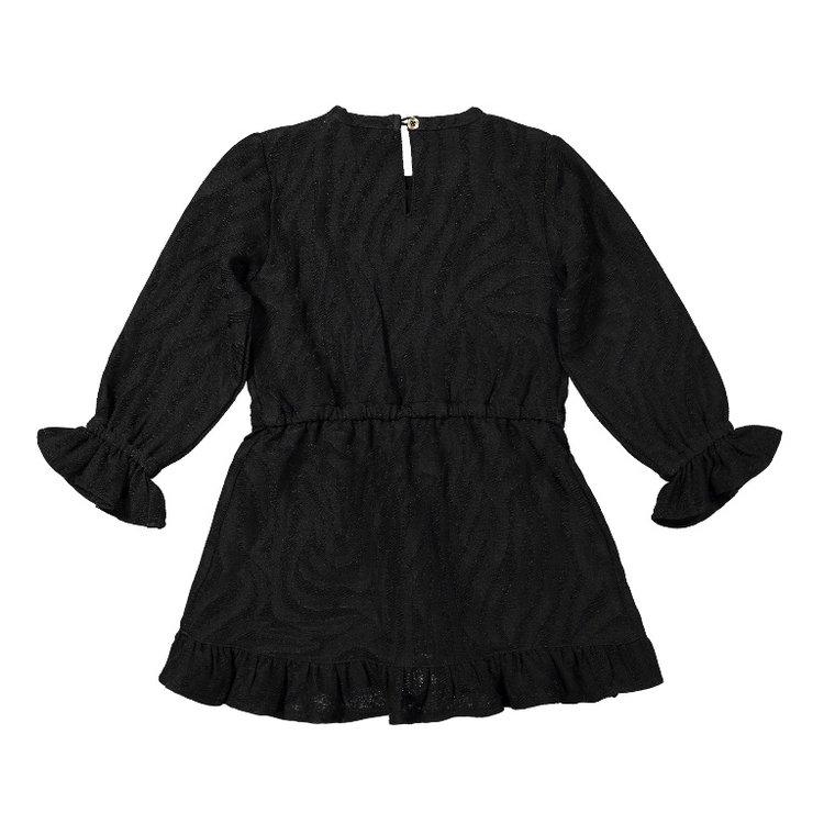 Koko Noko Mädchenkleid schwarzer Tiger   F40989-37