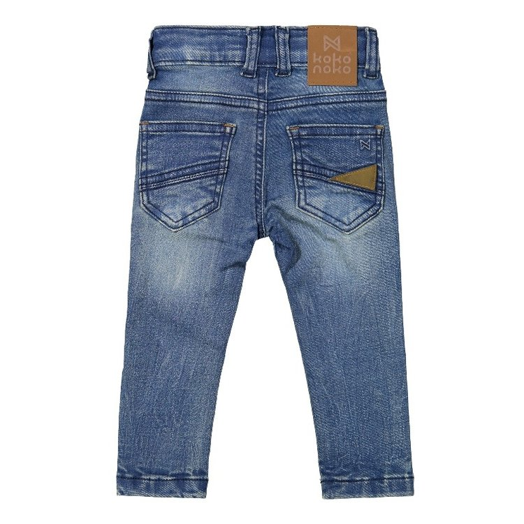 Koko Noko boys jeans blue | F40802-37
