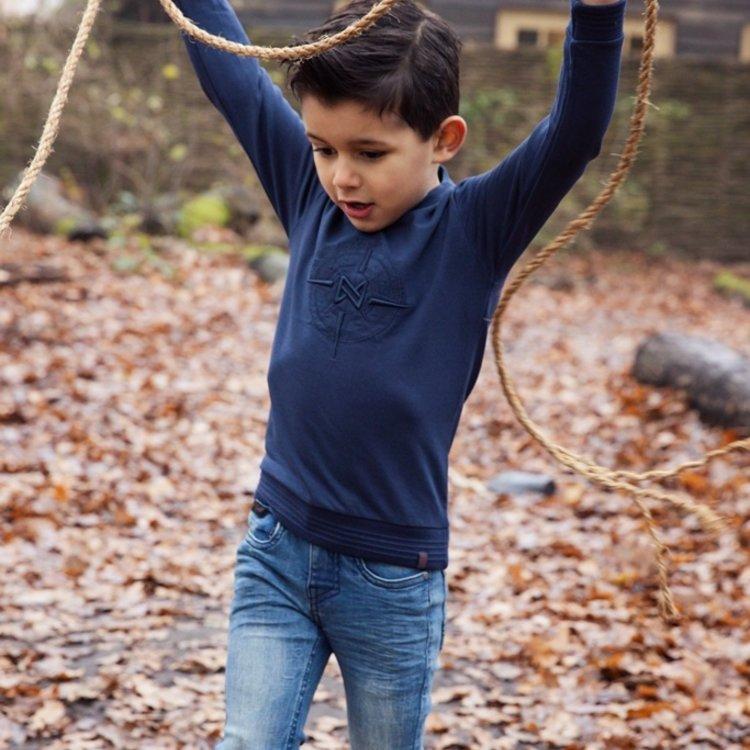 Koko Noko jongens jeans blauw   F40802-37