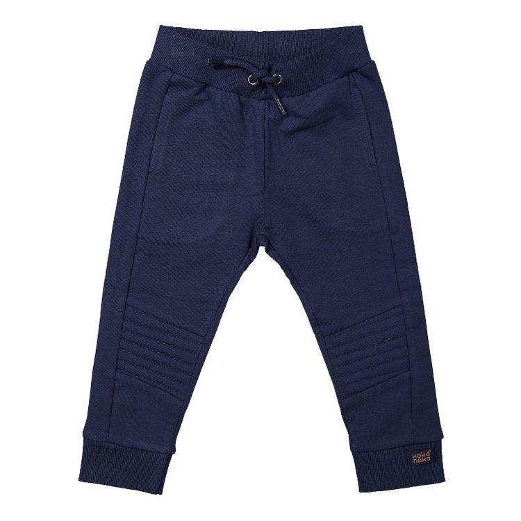 Koko Noko jongens joggingbroek donkerblauw | F40805-37