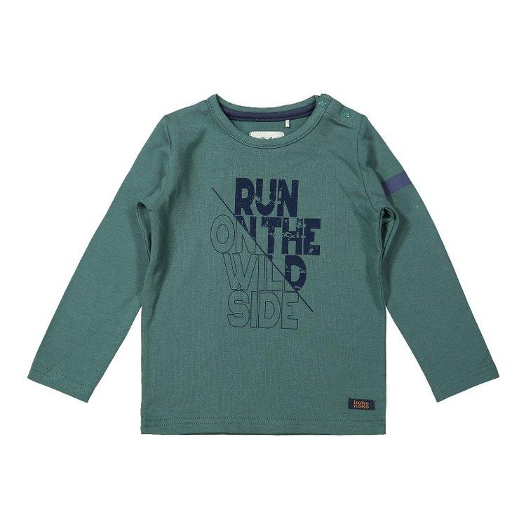 Koko Noko Jungen Shirt grün   F40806-37