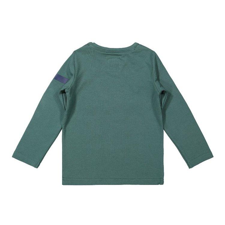 Koko Noko jongens shirt groen   F40806-37