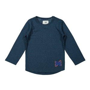 Koko Noko boys shirt green blue striped