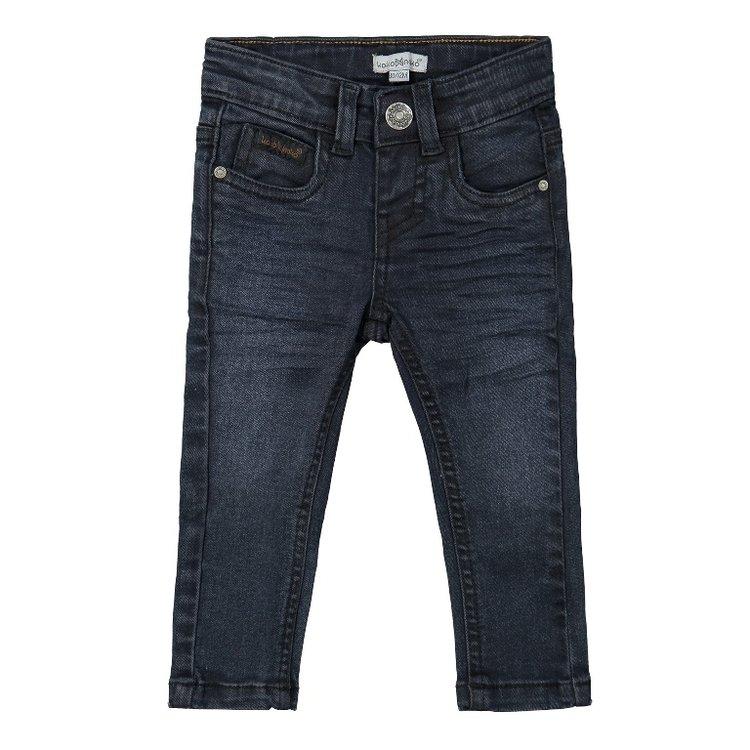 Koko Noko jongens jeans donkerblauw | F40809-37