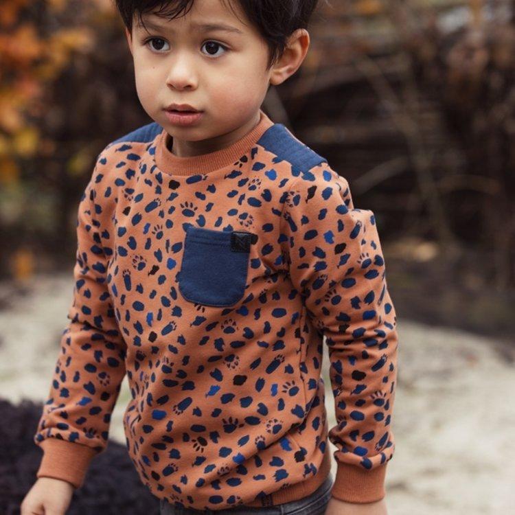 Koko Noko boys sweater camel | F40816-37