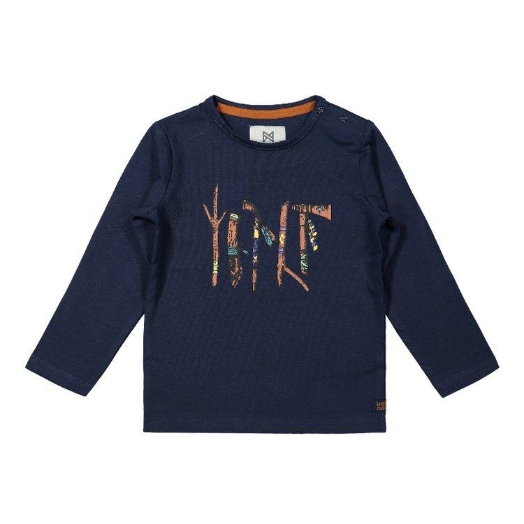 Koko Noko Jungen Shirt dunkelblau | F40820-37