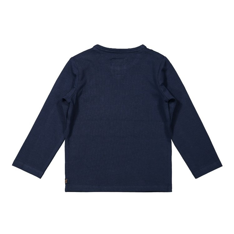 Koko Noko boys shirt dark blue | F40820-37