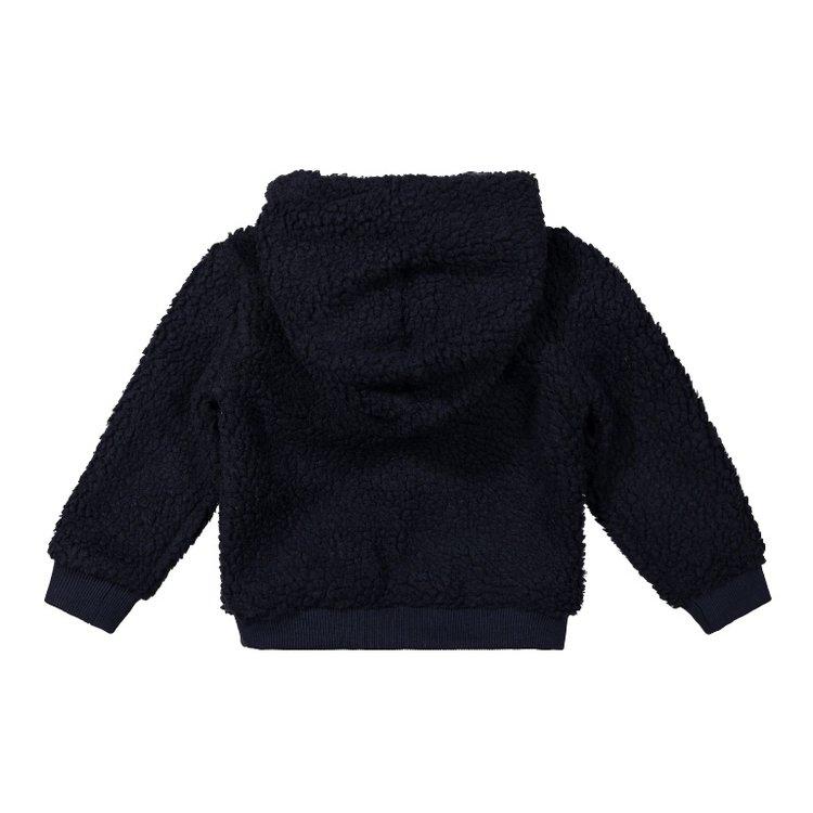Koko Noko boys sweater dark blue borg | F40822-37