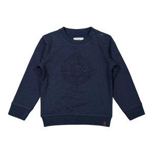 Koko Noko Jungen Pullover dunkelblau Kompass