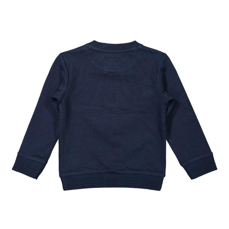 Koko Noko Jungen Pullover dunkelblau Kompass | F40824-37