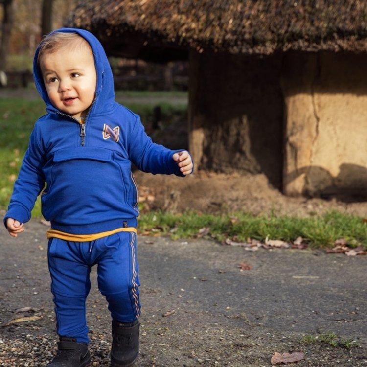 Koko Noko jongens joggingbroek kobaltblauw   F40830-37