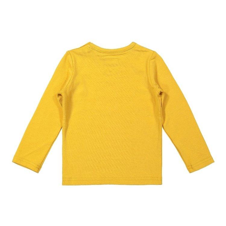 Koko Noko jongens shirt okergeel | F40831-37