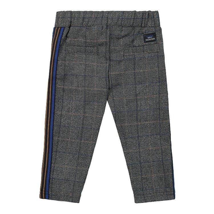 Koko Noko boys trouser grey check   F40832-37