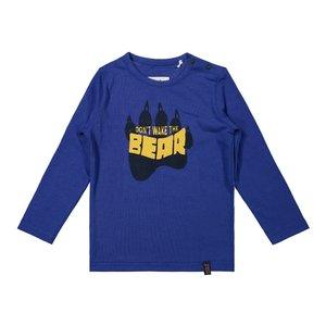 Koko Noko jongens shirt kobaltblauw