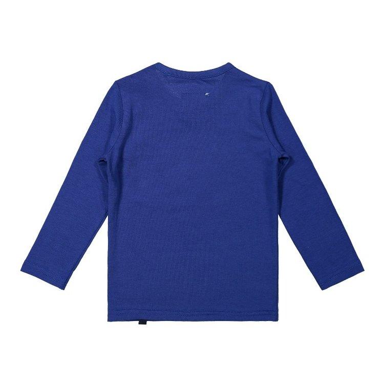 Koko Noko jongens shirt kobaltblauw   F40834-37