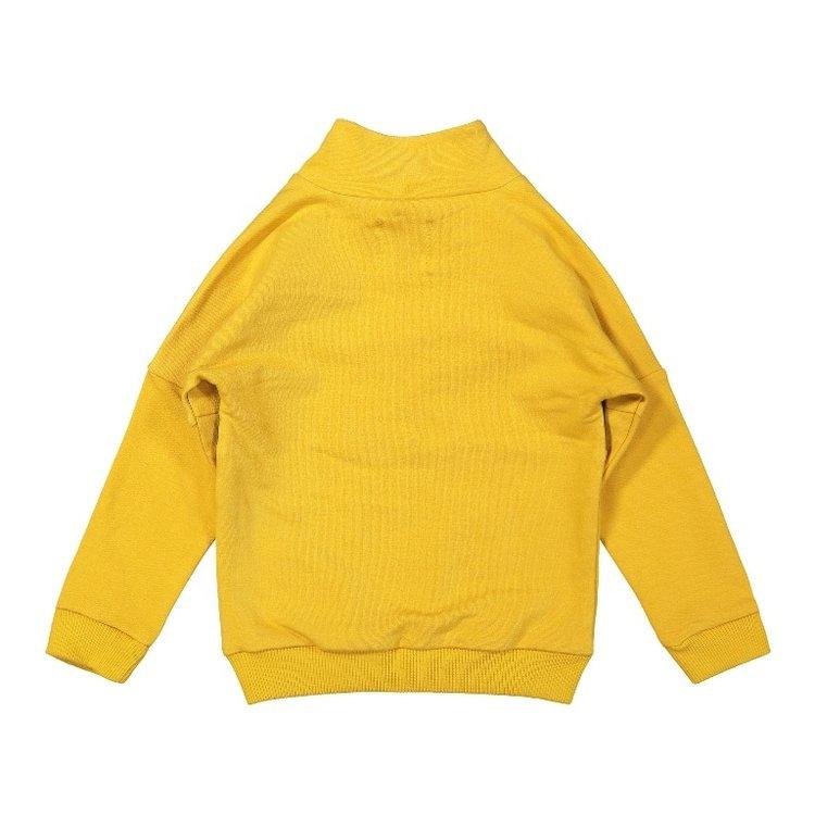 Koko Noko jongens sweater okergeel   F40835-37