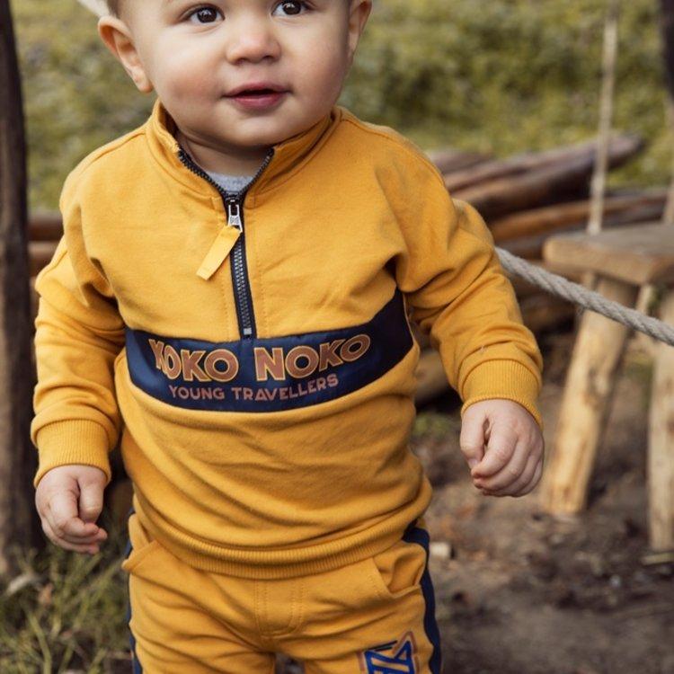 Koko Noko Jungen Pullover ocker | F40835-37