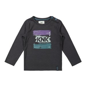 Koko Noko boys shirt dark grey