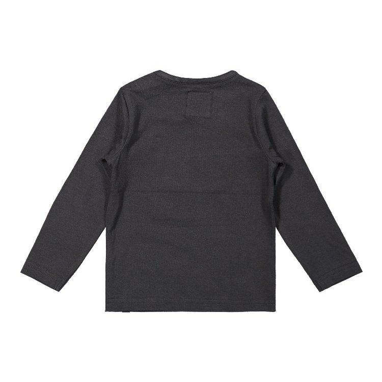 Koko Noko boys shirt dark grey | F40840-37