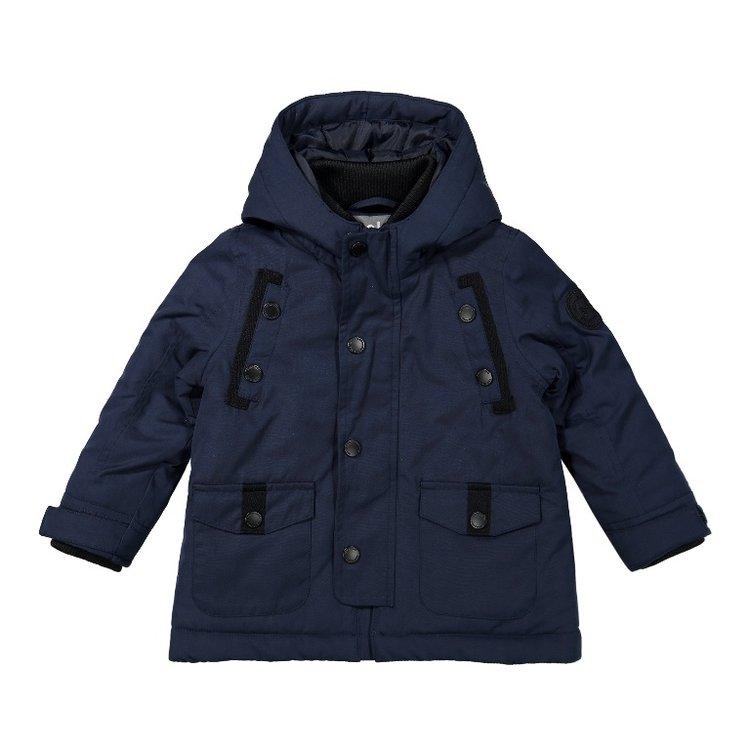 Koko Noko boys parka winter coat blue | F40837-37