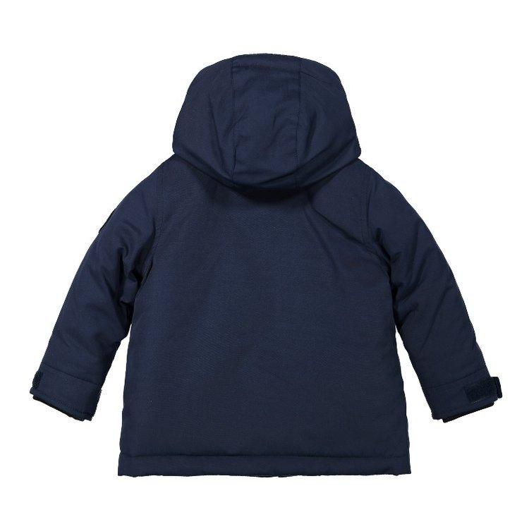Koko Noko jongens parka winterjas blauw | F40837-37