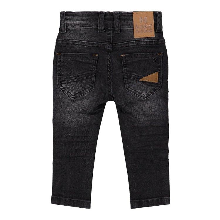 Koko Noko jongens jeans zwart | F40845-37