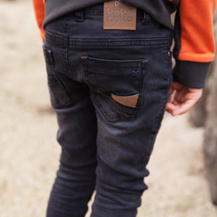 Koko Noko boys jeans black   F40845-37