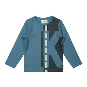 Koko Noko boys shirt petrol dark grey