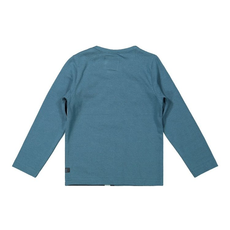 Koko Noko Jungen Shirt petrol dunkelgrau | F40850-37