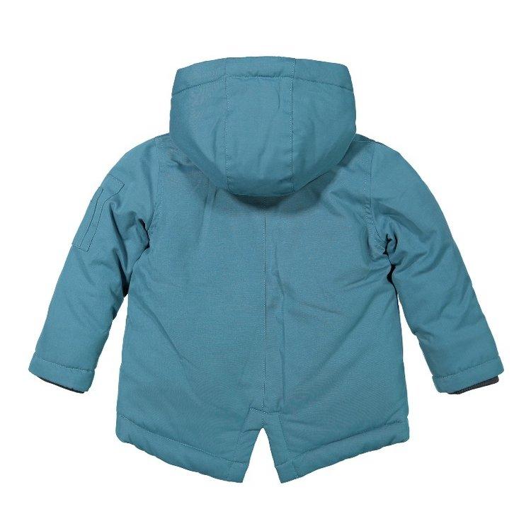 Koko Noko boys parka jacket petrol | F40853-37