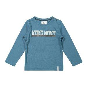 Koko Noko jongens shirt petrol