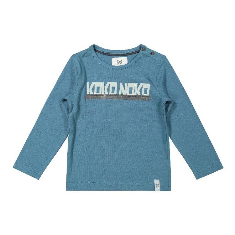 Koko Noko Jungen Shirt petrol | F40857-37