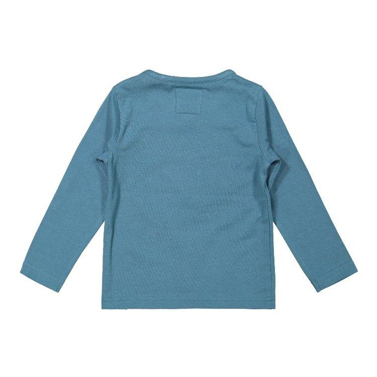 Koko Noko boys shirt petrol | F40857-37