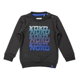 Koko Noko jongens sweater donkergrijs