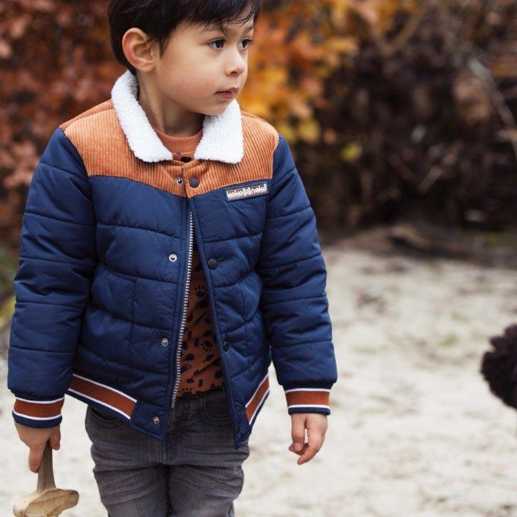 Koko Noko jongens jeans grijs   F40859-37