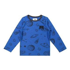 Koko Noko boys shirt blue planets