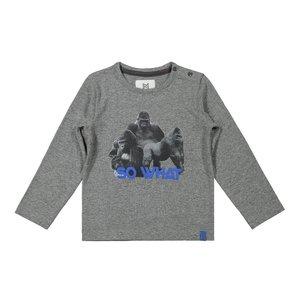 Koko Noko boys shirt grey gorilla