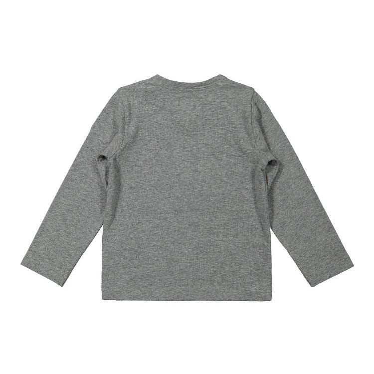 Koko Noko boys shirt grey gorilla   F40862-37