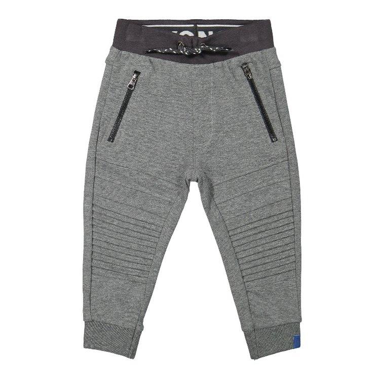 Koko Noko jongens joggingbroek licht grijs   F40866-37
