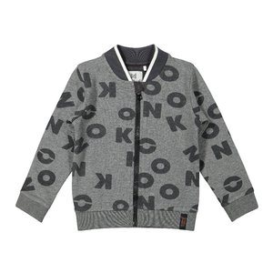 Koko Noko boys cardigan grey