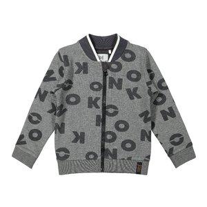 Koko Noko Jungen Strickjacke grau