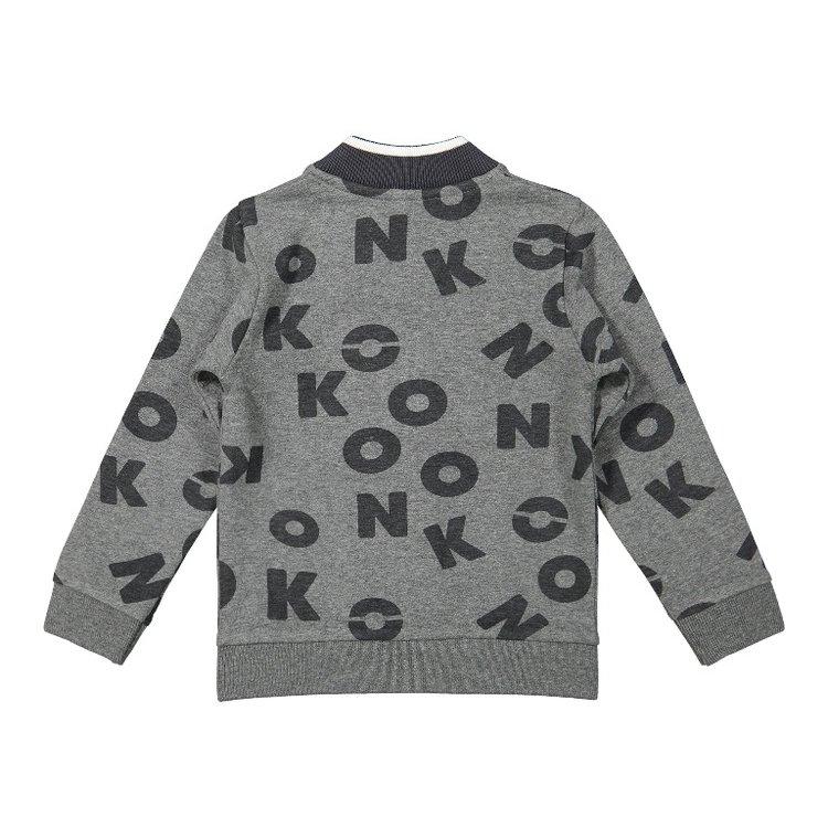 Koko Noko boys cardigan grey   F40869-37