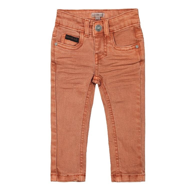 Koko Noko Jongens Jeans Faded Oranje Oranje
