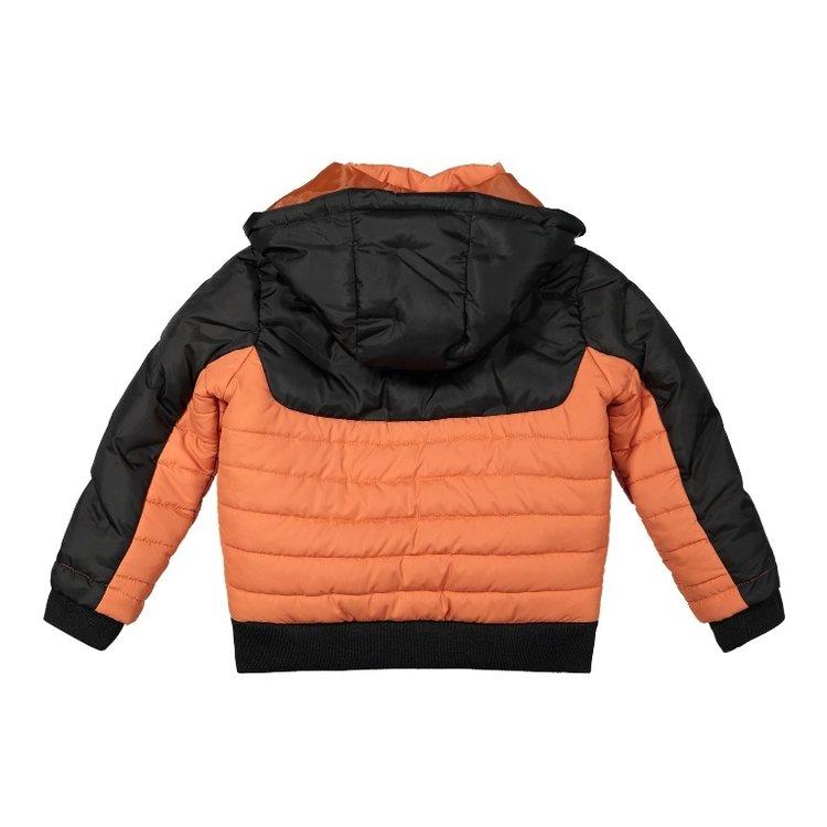 Koko Noko boys jacket dark gray orange | F40873-37