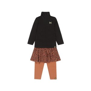 Koko Noko girls 3-piece set black camel panther
