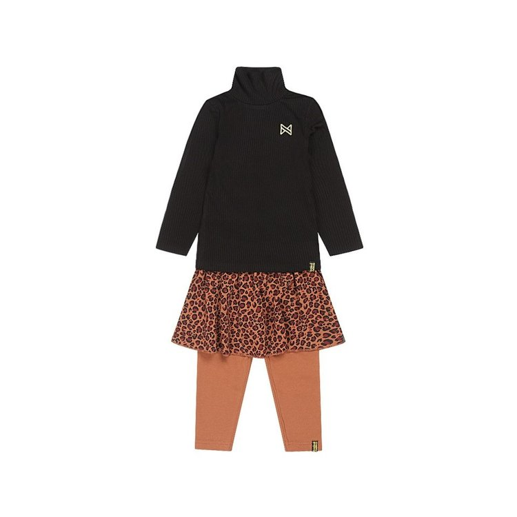 Koko Noko Mädchen 3-teiliges Set schwarz Kamel Panther | F40995-37